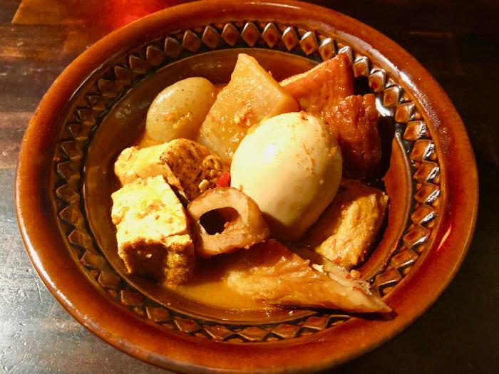 マップ番号 11 SHIMOKITA GEKIJO hanabicaffe 『チゲ風激辛おでん』