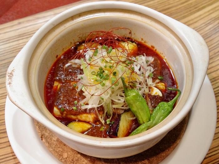 マップ番号 48 黒川食堂 『中華仙人のマーボー豆腐』