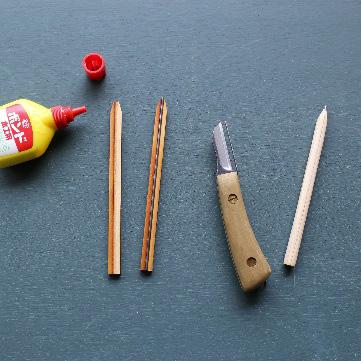 It's my knife ワークショップ「削るを楽しむ!鉛筆、お箸置きづくり体験」