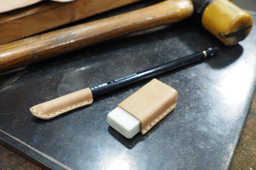 BrownBrown ワークショップ「皮の鉛筆、消しゴムケース手作り体験」