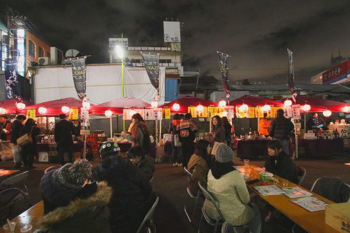 過去に開催された『下北沢SAKEフェア』の様子