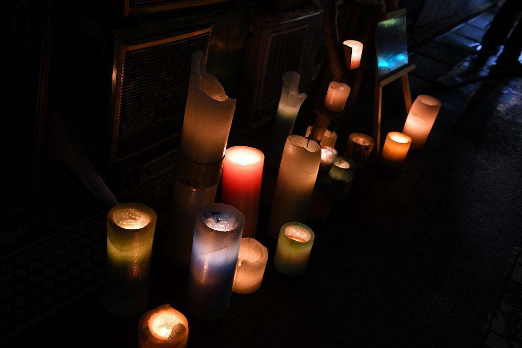 『Bar 月灯 -Ghetto- 』Fuji Candle