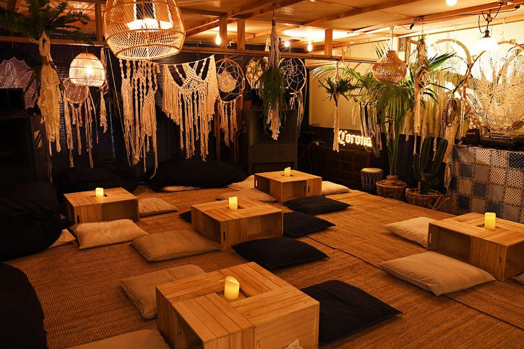 ロンヴァクアンもイベントに合わせて、雰囲気ある空間に変わっていました