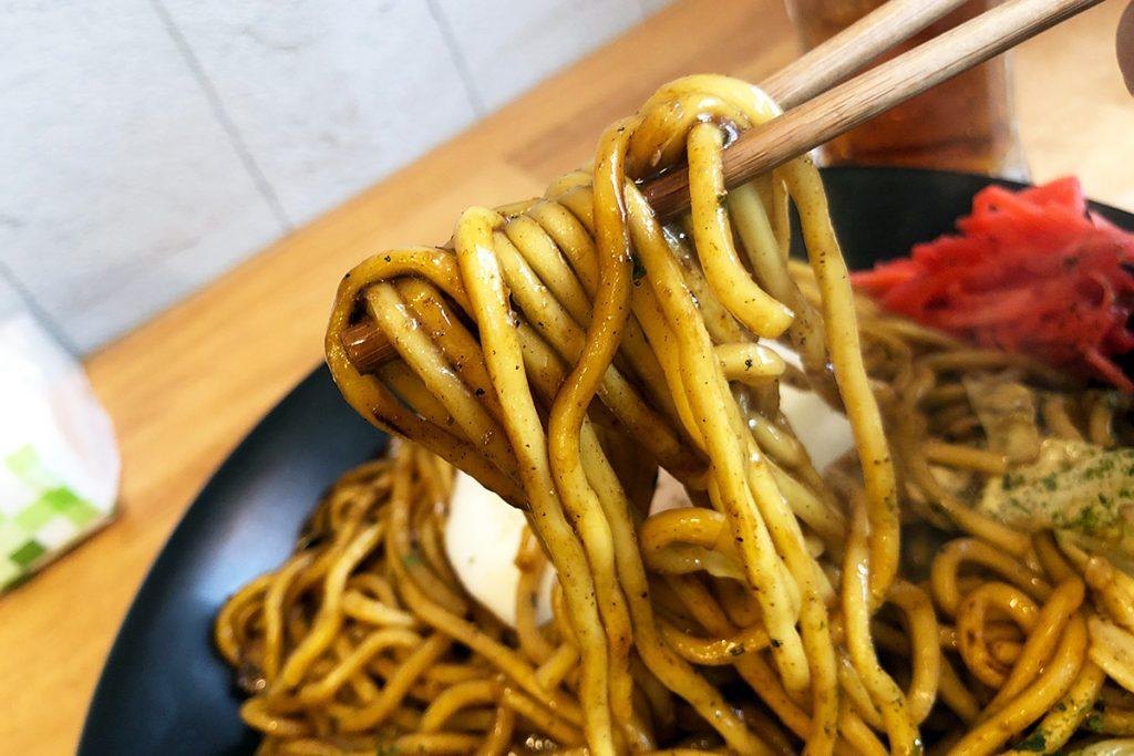 東京焼き麺スタンド「スーパー焼きそば」
