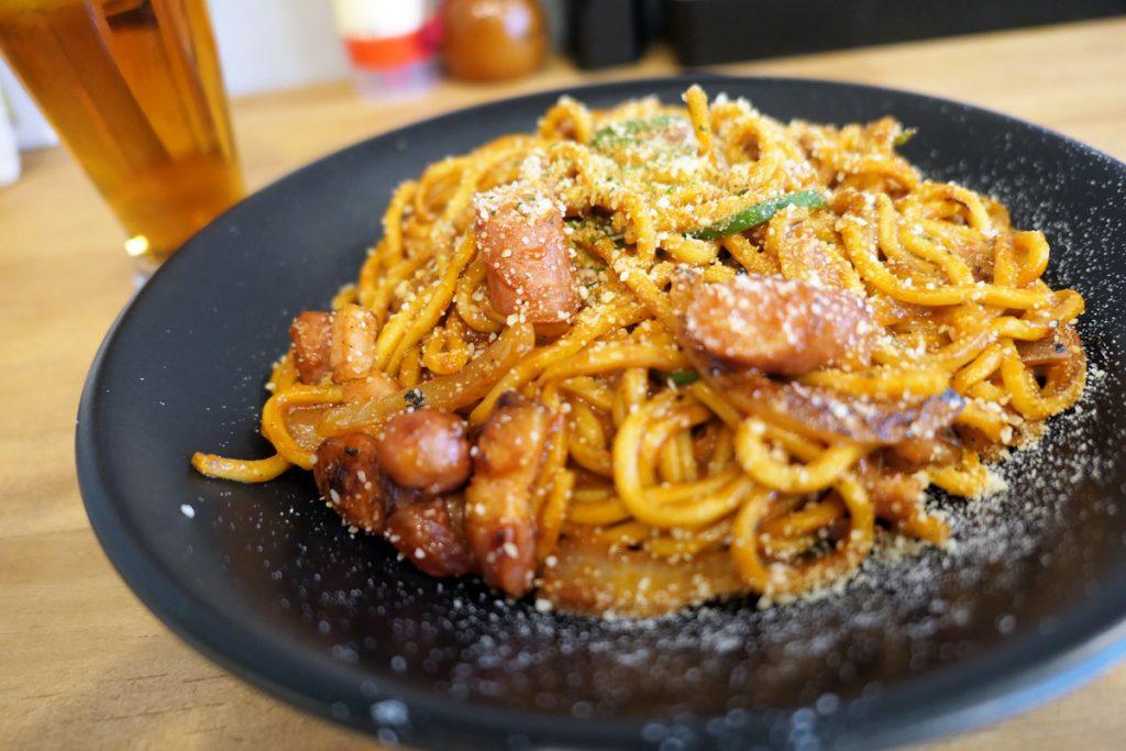 東京焼き麺スタンドの「スーパーナポリタン」