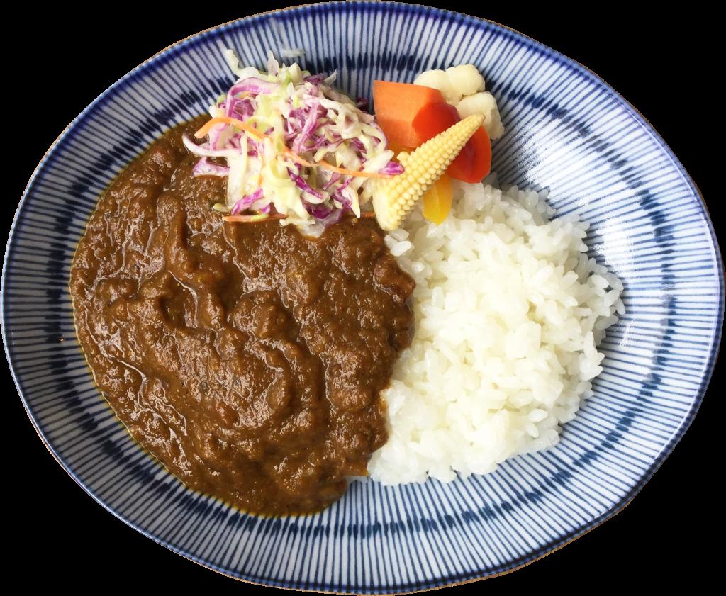 yuzukiの「トロトロ牛スジのスパイスカレー」