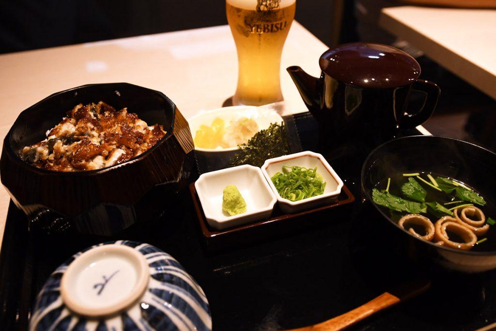 うなぎの竹若の「本場名古屋の極上ひつまぶし」2,480円(税抜)