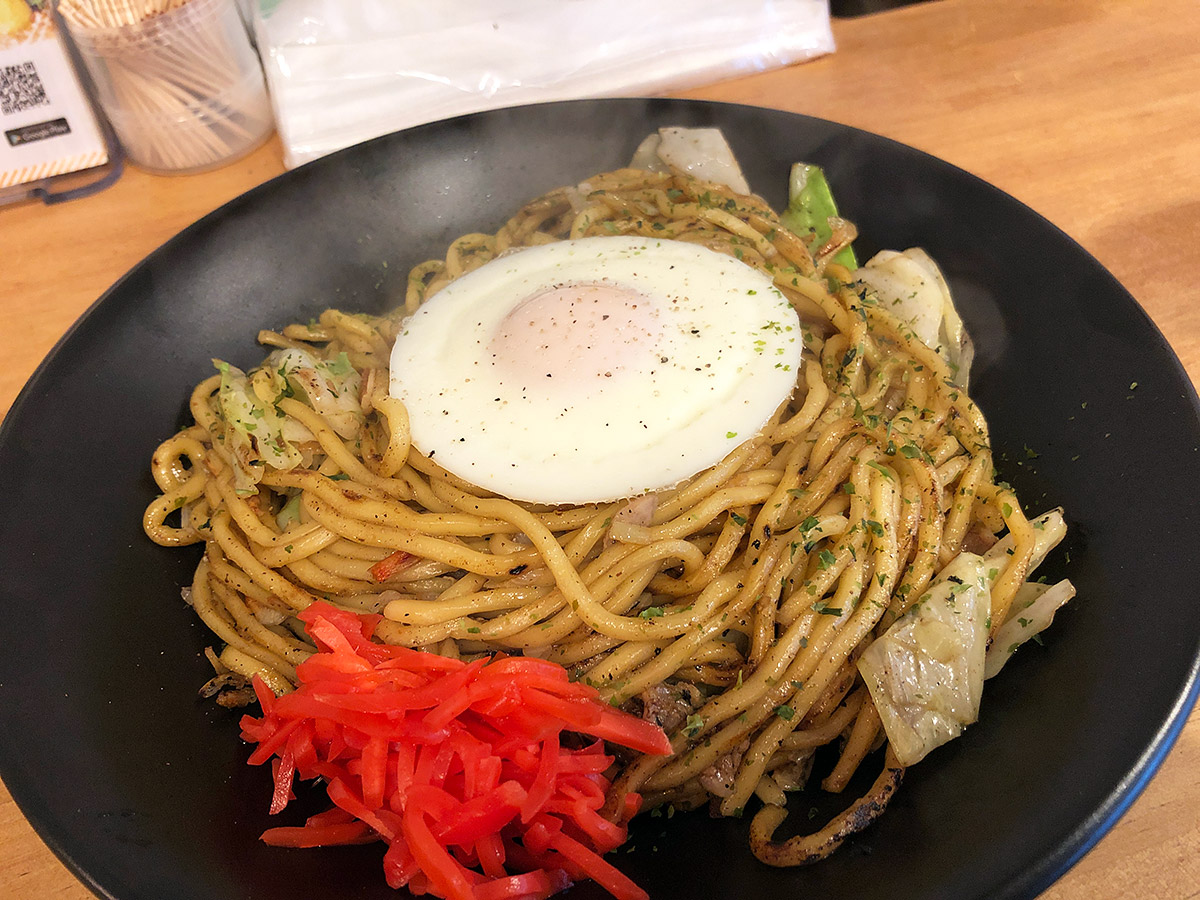 東京焼き麺スタンドの『スーパー塩焼きそば』850円