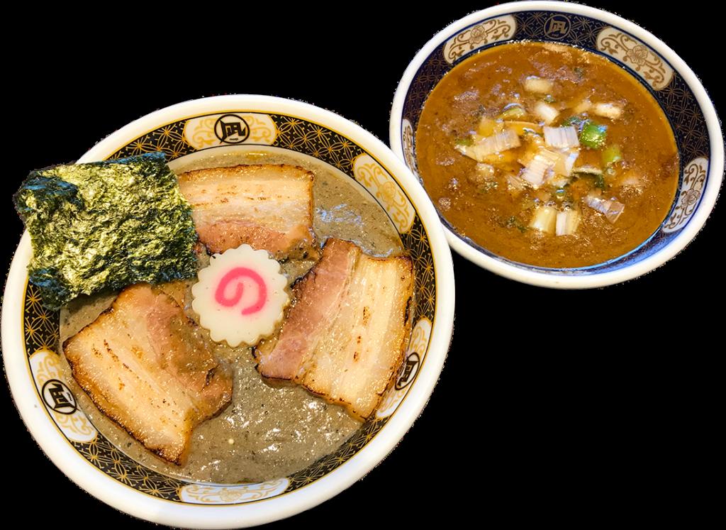 ラーメン凪 下北沢店の「煮干鱗の銀カレー  ご飯or麺 (すごい煮干スープ付)」
