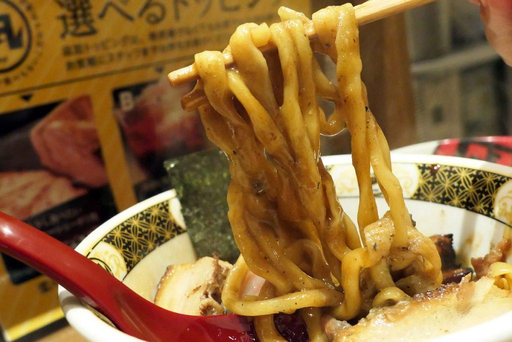 めっちゃ麺に絡むカレー(煮干し)