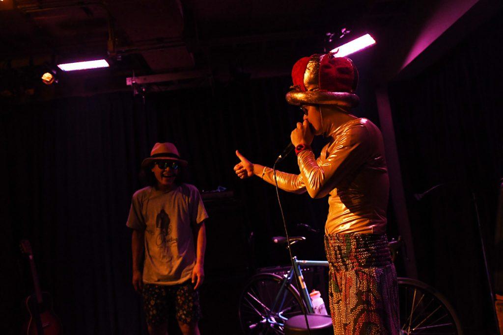 昨年下北沢THREEで開催された「歌え!ドラマー達!vol.8」の模様