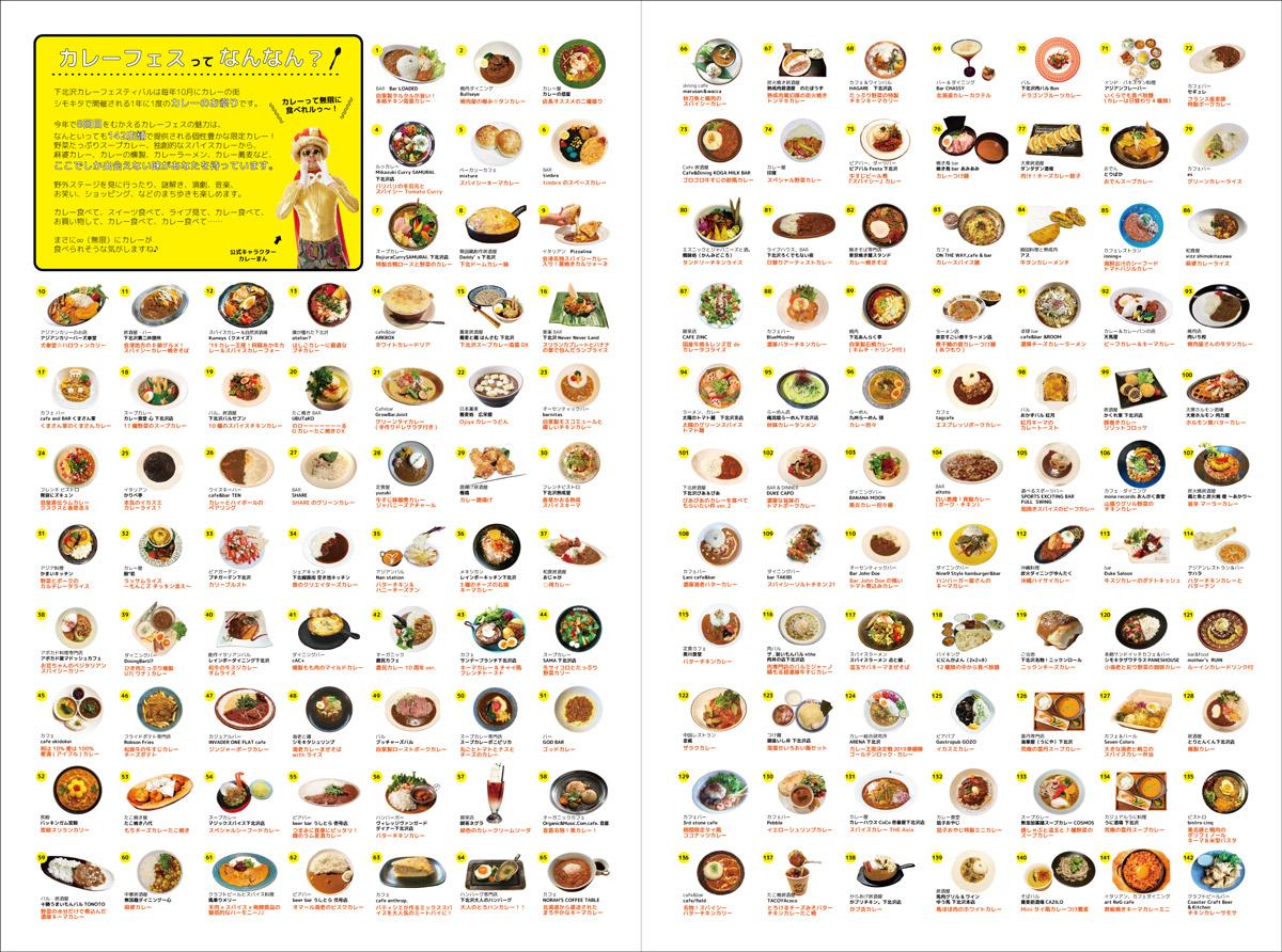 『下北沢カレーフェスティバル2019』参加カレー情報の一部