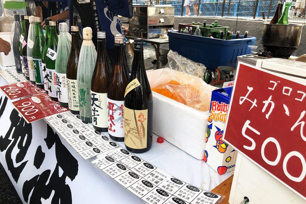 そして、神奈川県の地酒がずらり。神奈川にもたくさん酒蔵があるのですねー
