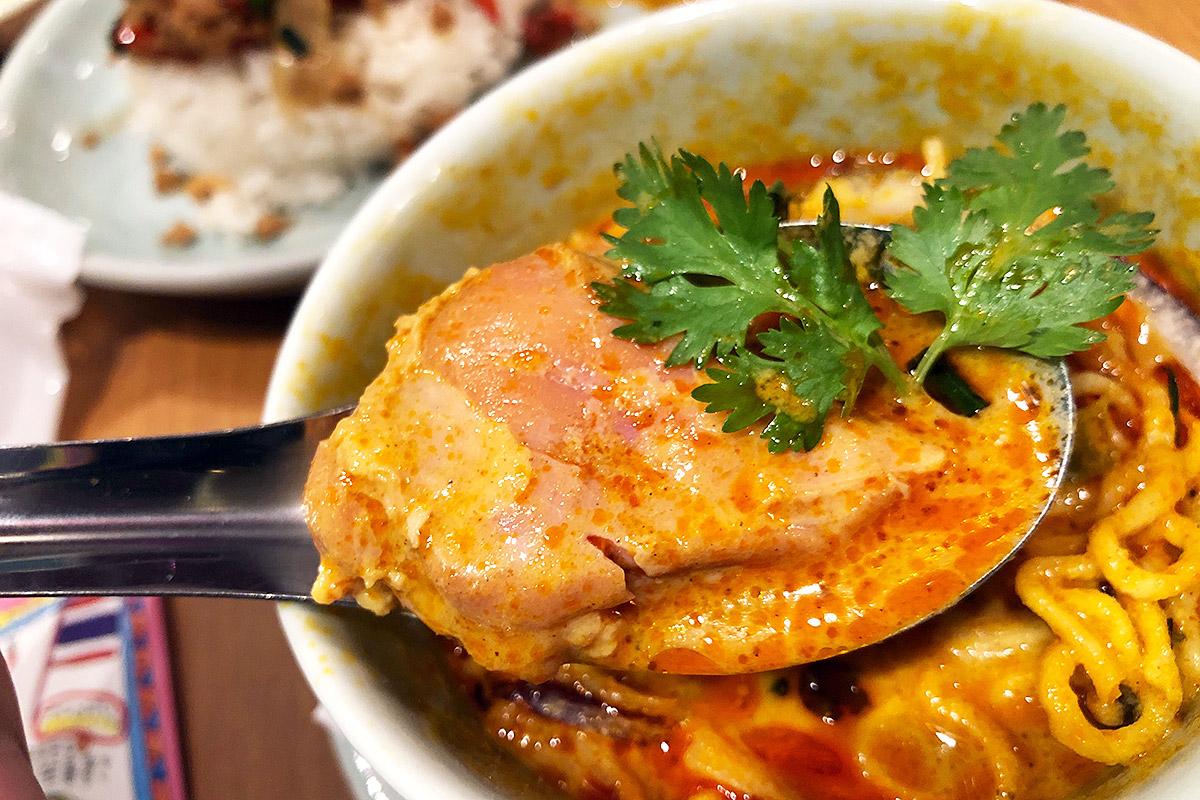食べ応えのある鶏肉