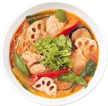 94. 太陽のトマト麺 下北沢支店 『太陽のグリーンスパイストマト麺』