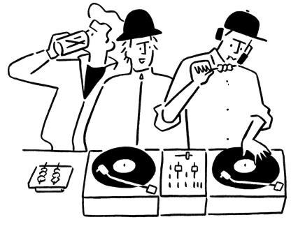 リリースに掲載されていたイラストレーター・長場 雄さんのイラストに、ズバリそのものが描かれていました