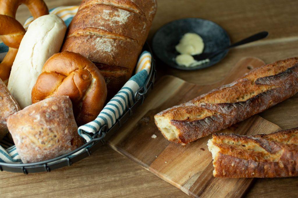 常時20種以上が揃うドイツパンや定番のベーカリー