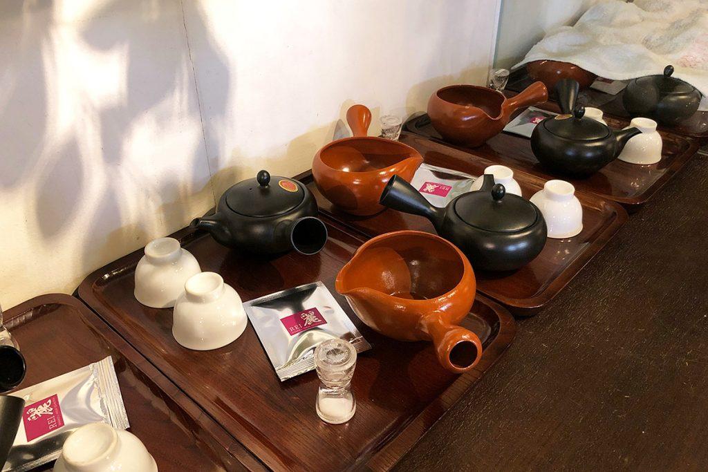 そして後半は、おいしい日本茶の淹れ方お茶育ワークショップ