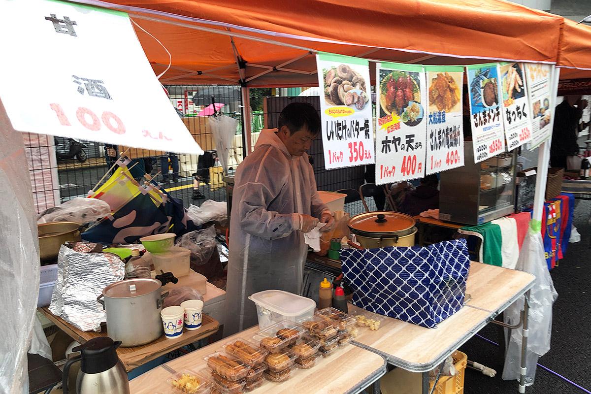 大船渡のサンマを使った料理に陸前高田のホヤの天ぷらも