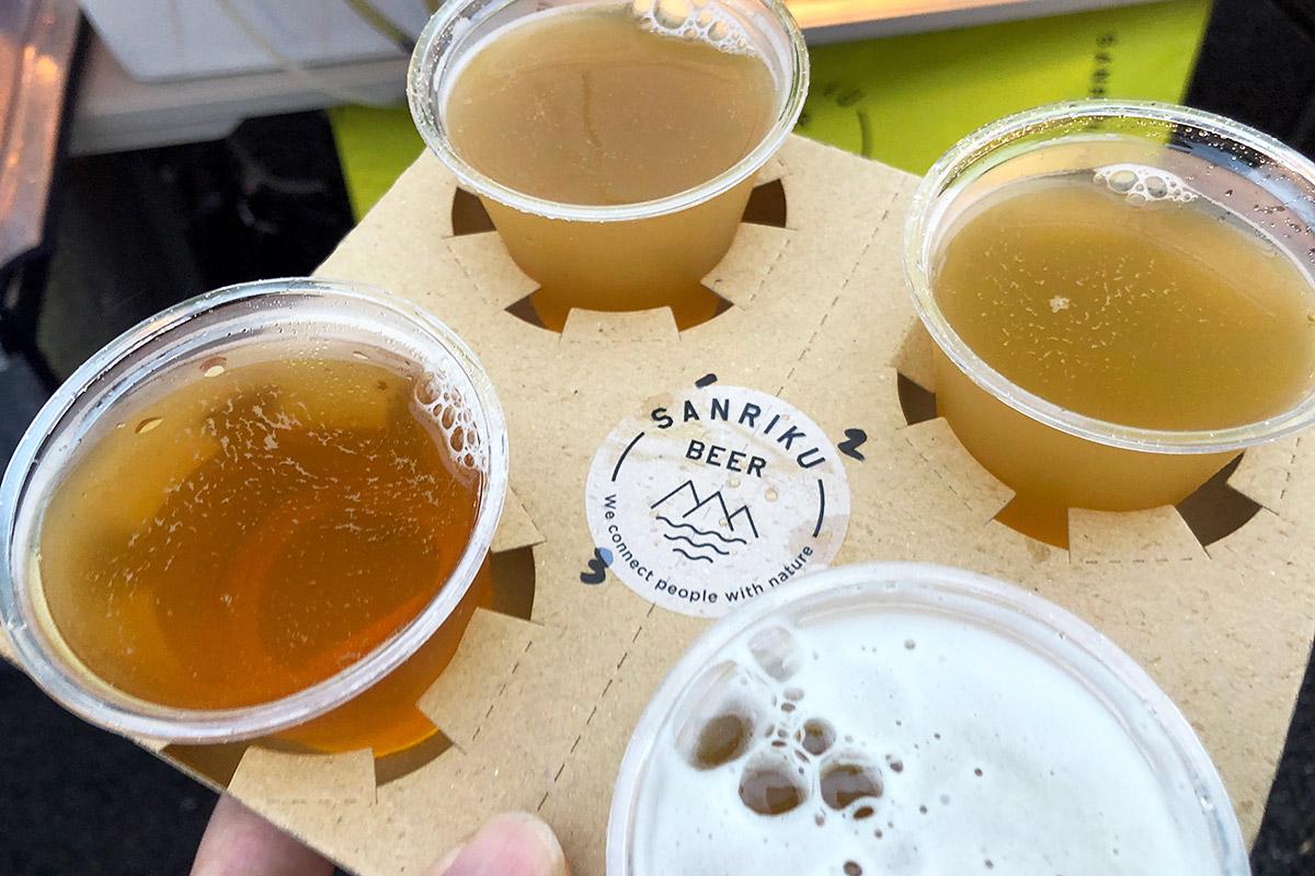 わーい、ビールビール!(タダの酔っ払い