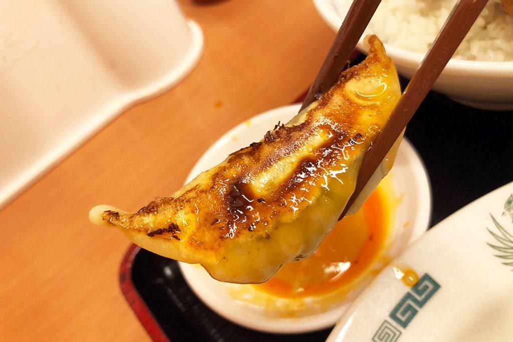 ホントに美味しくなりましたよね、日高屋の餃子