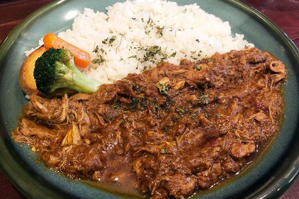 E-itou Curryの「パキスタン無水カレー」1000円(税込)