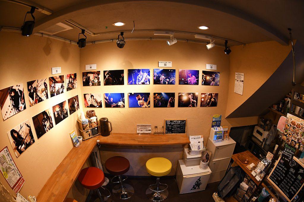 「喫茶ギャラリーGeki」店内