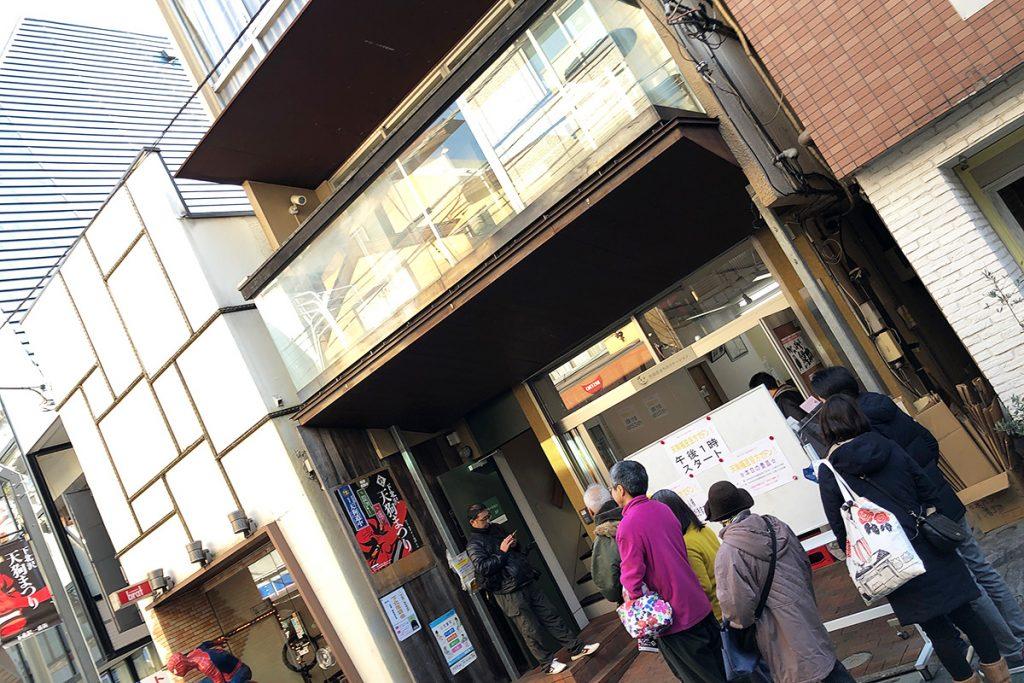下北沢一番街商店街事務所へ