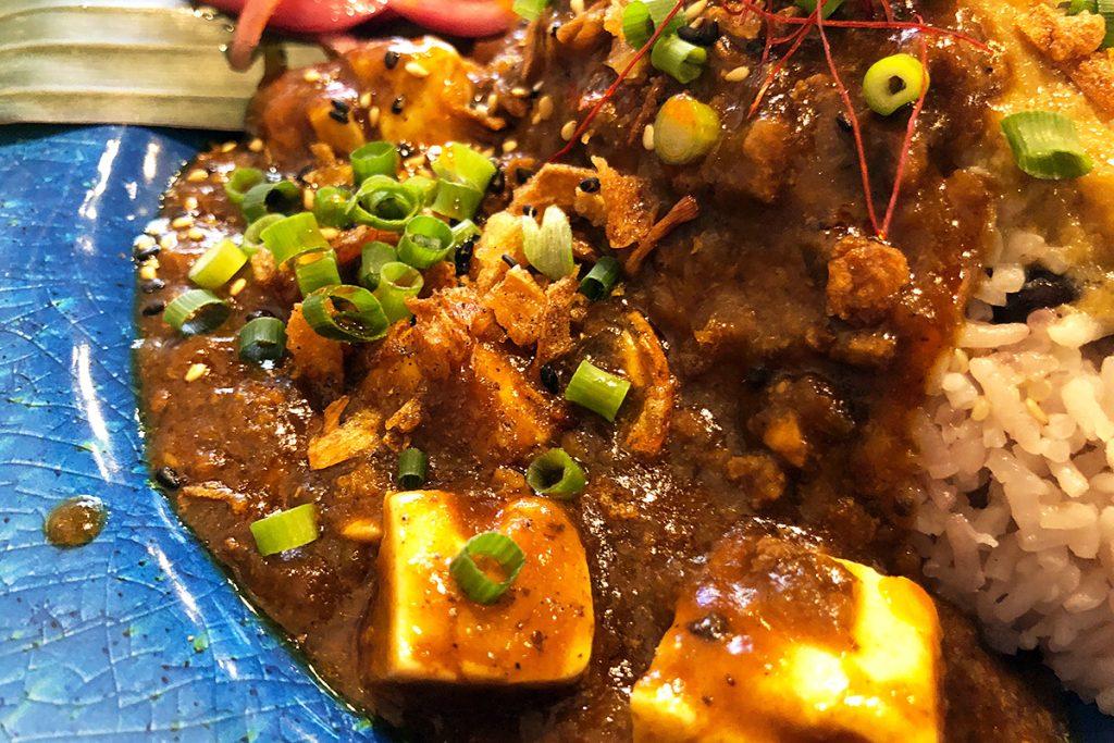 マーボー豆腐カレー