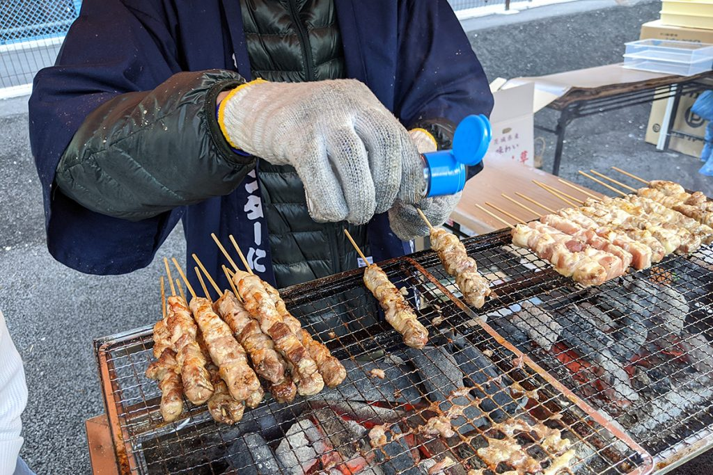 こちらも頂きます、糸魚川にいがた地鶏の翠鶏(みどり)