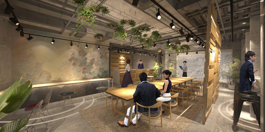 「いいオフィス下北沢」内装イメージ