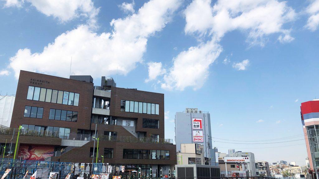Zoom用バーチャル背景『下北沢駅東口前』