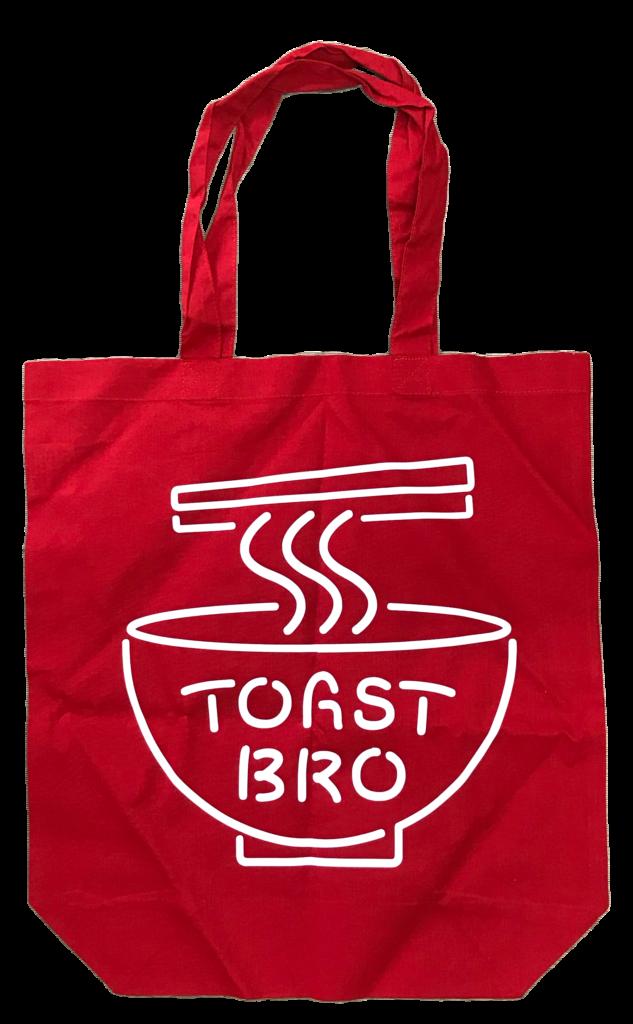 TOAST BRO × 珉亭   コットン・トートバッグ