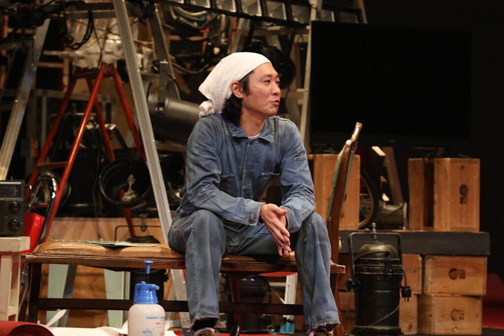 御笠ノ忠次- 2020.6.1 本多劇場 DISTANCE 撮影:和田咲子