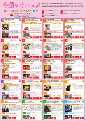 「下北沢WEEKLY」2020年7月27日発行号 お店情報・クーポン面