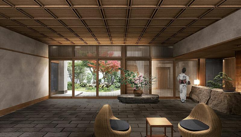 温泉旅館「由縁別邸 代田」内観イメージ