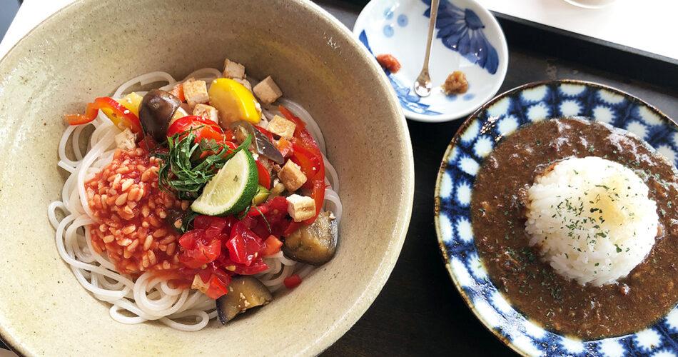発酵デパートメントの「トマト麹の米麺」と絶品「発酵ハヤシライス」