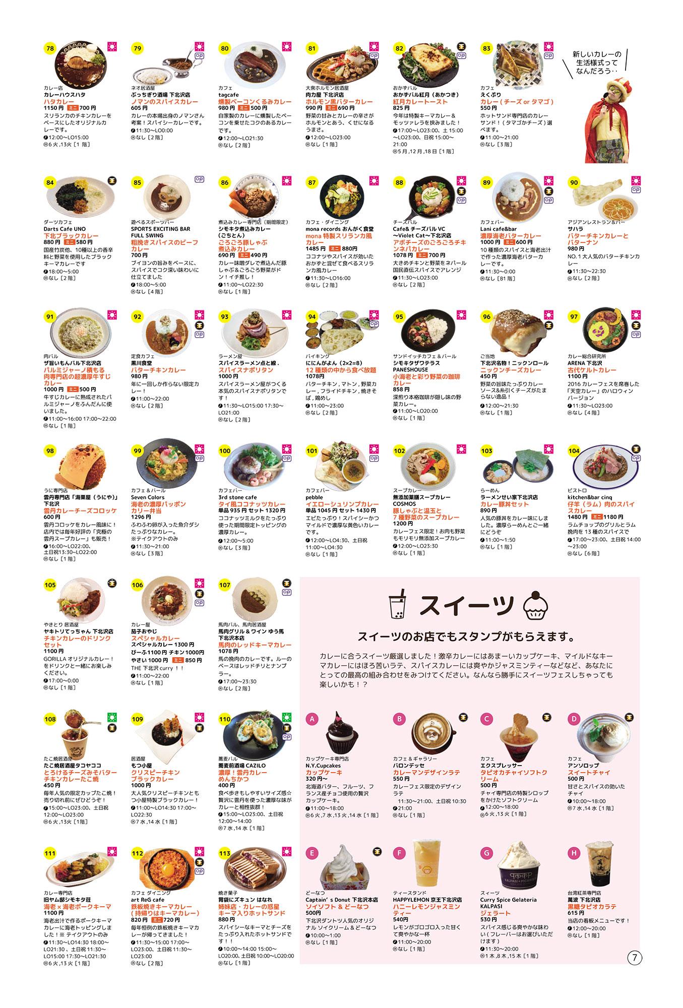『下北沢カレーフェスティバル2020』参加店舗紹介【3】