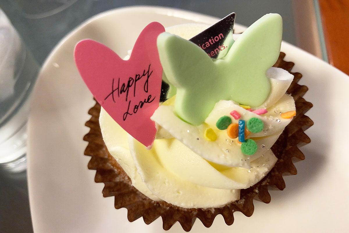 N.Y.Cupcakesの「LOVEバニラ」450円(税込)