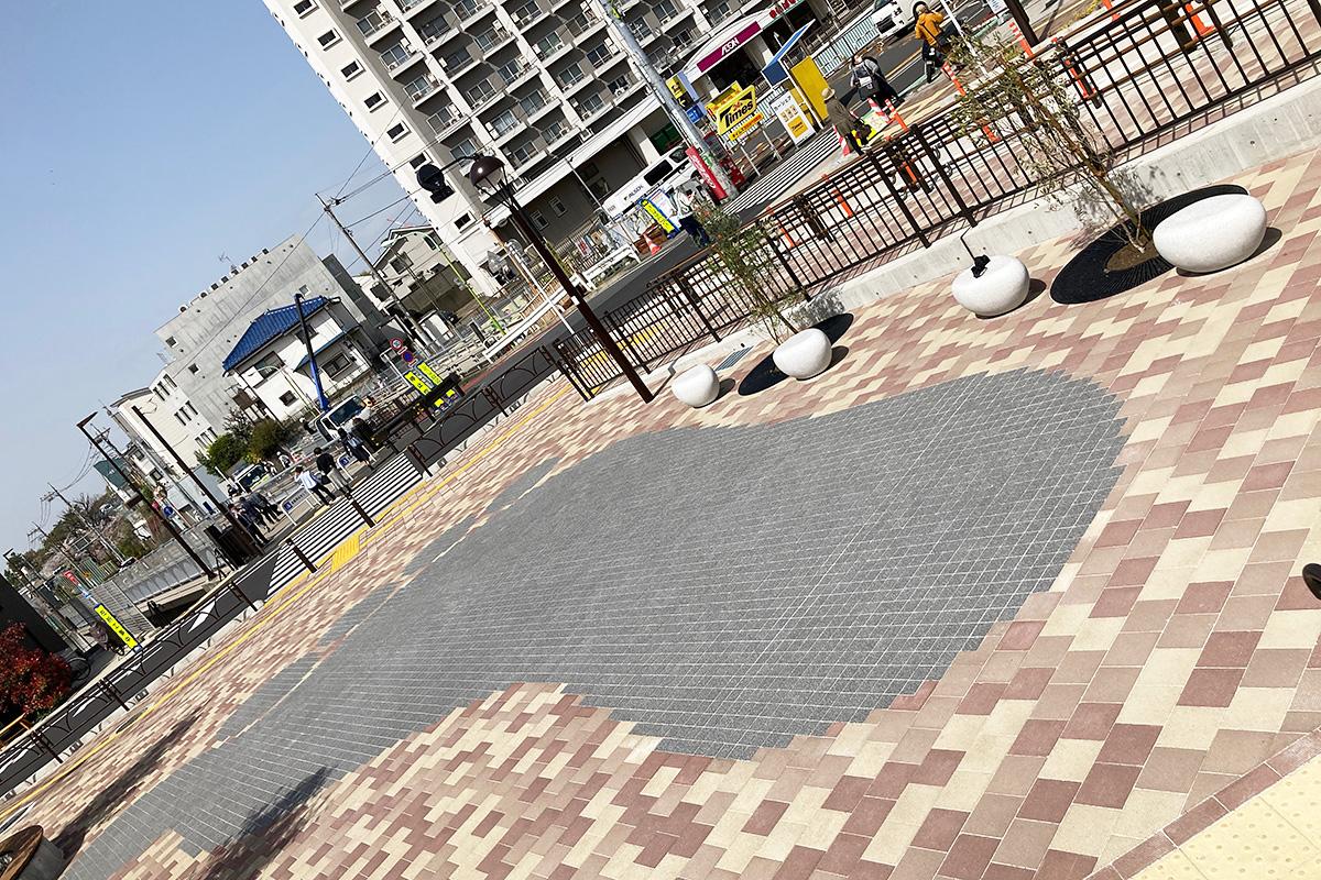 世田谷代田駅前広場