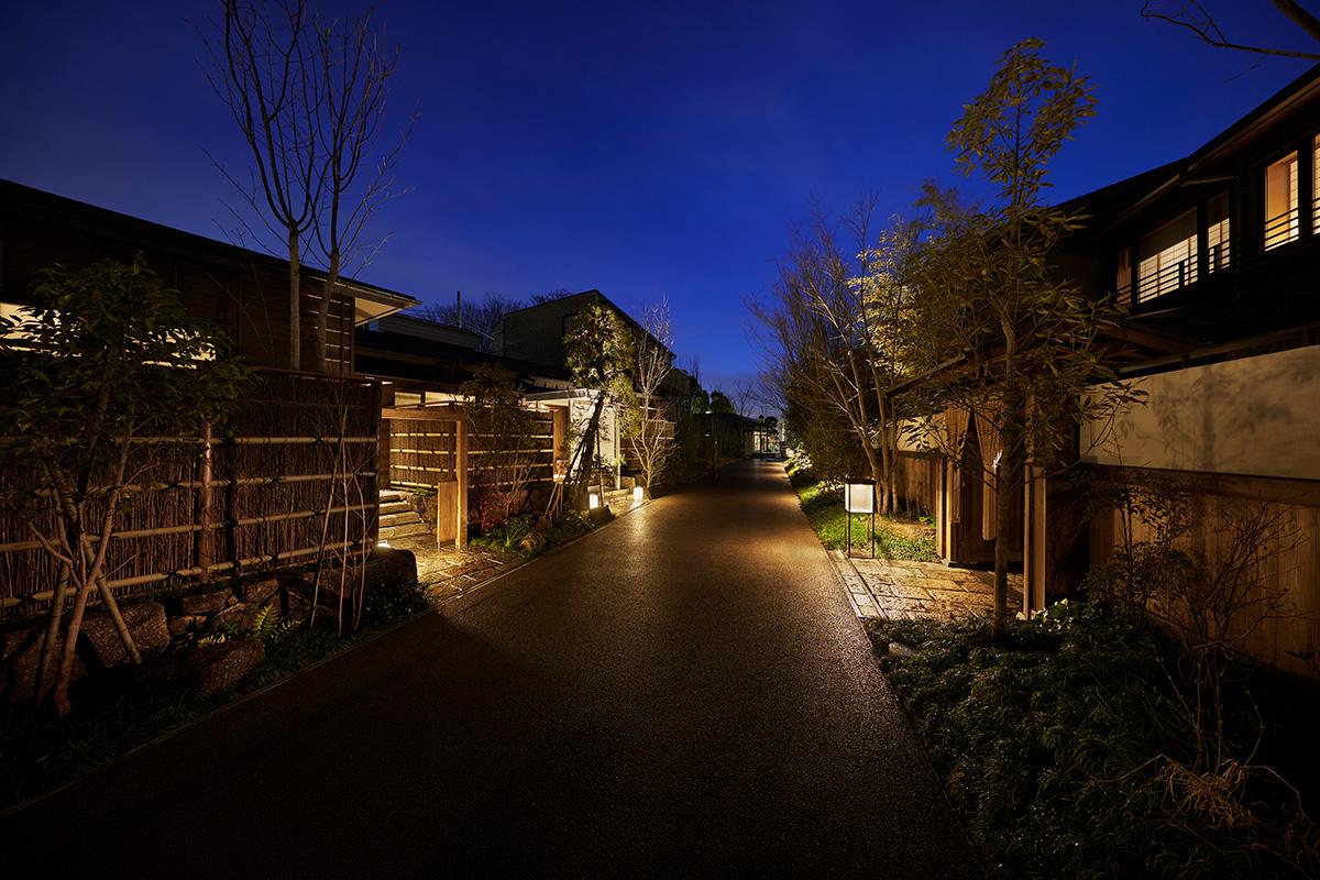 『由縁別邸 代田』の一連の施設は完成しました
