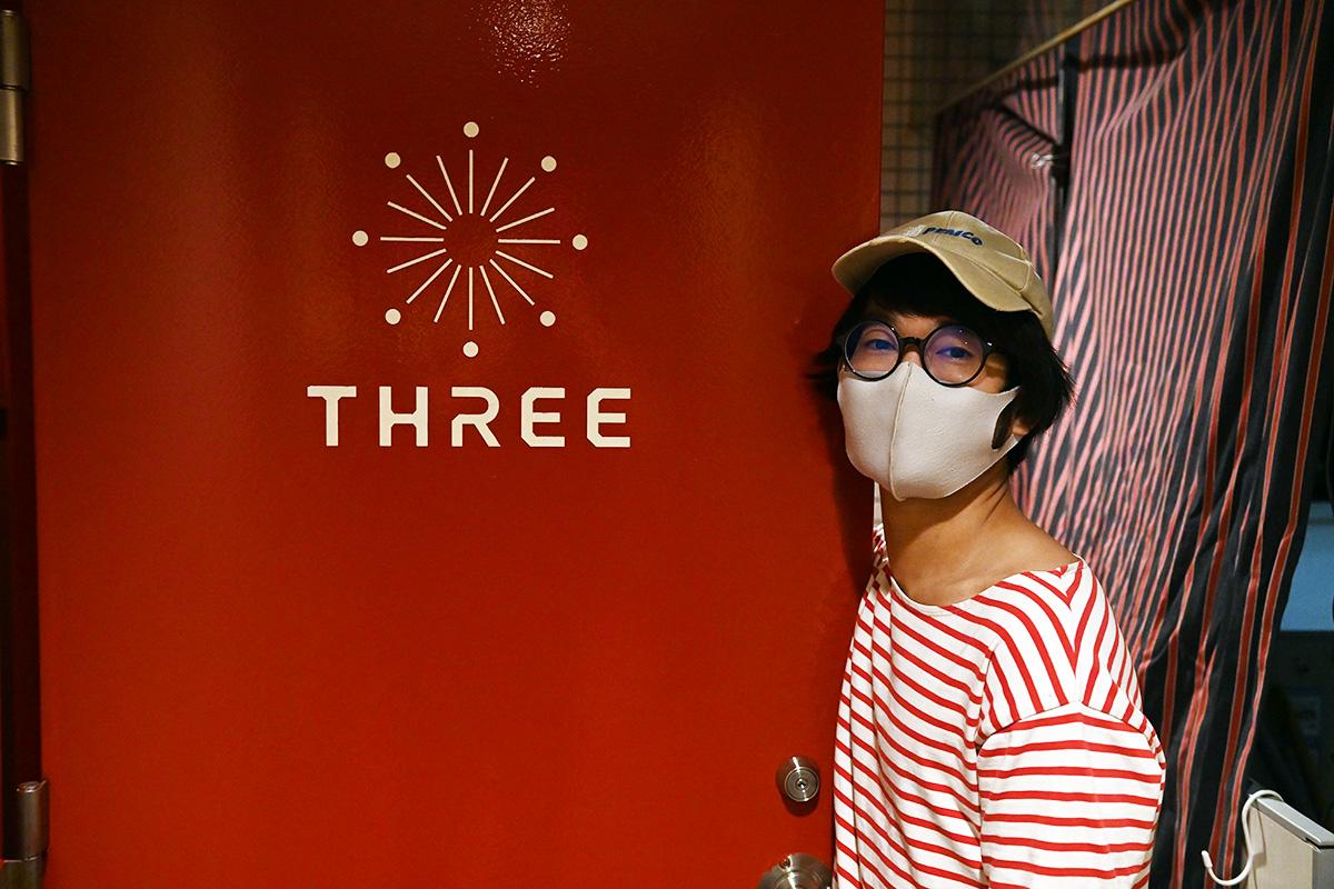 THREE店長の「こっけ」さん