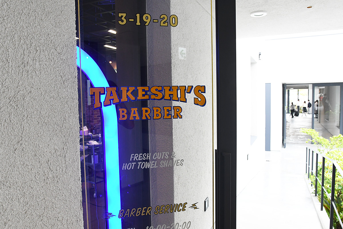 Room_1-4 「TAKESHI'S BARBER」 BARBER