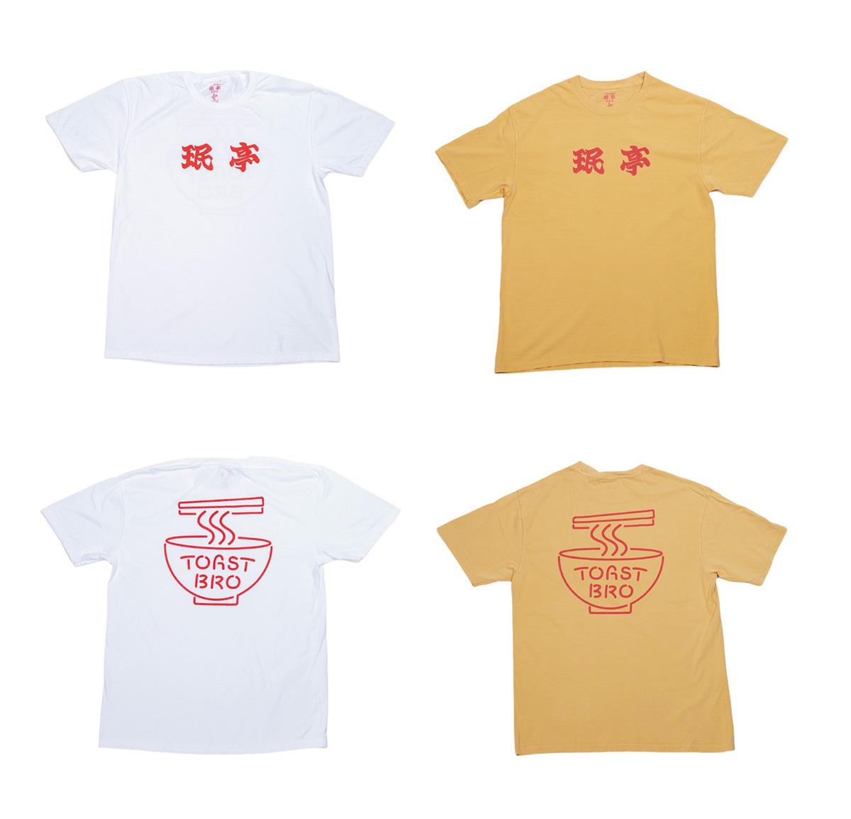 "【珉亭×TOAST BRO ""LOGO"" TEE】"