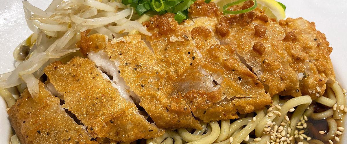 肉汁麺ススム「冷やしパーコー麺」