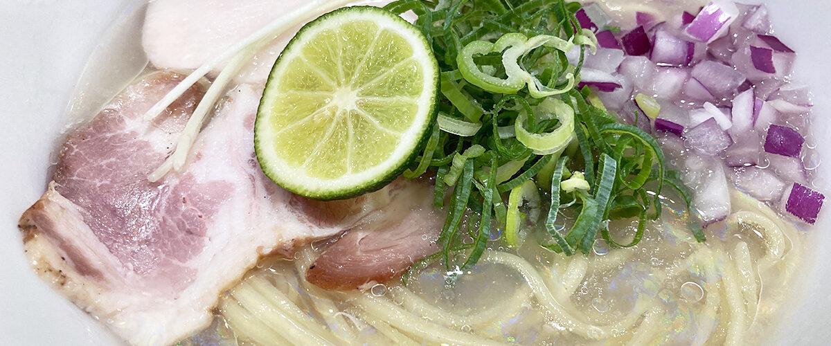 貝麺みかわの「冷やし貝麺」